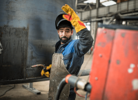 Flying sparks: How we Helped Kenan Become a Certified Welder