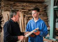 Lendrit's Woodworking Apprenticeship