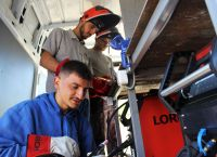 Rebounding from the pandemic: How a make-shift van is preparing the next welders of Kosovo