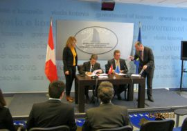 Signing of agreement between SCO-K and Ministry of Labor and Social Welfare
