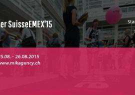 MIK Agency will take part at biggest digital marketing event in Switzerland, SuisseEMEX 15