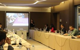 EYE presented findings from the report on tracing system of non-formal training providers, in the presence of 30 training providers